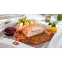 Cordon bleu Пилешко филе с шунка и гауда - 2 бр  /опаковка