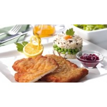 Виенски шницел от пилешко филе, суров - 2 бр.  /опаковка