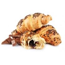 Френски кроасан с шоколад 80 гр,     6 бр/опаковка