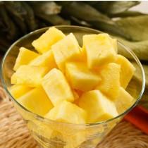 Замразен ананас кубчета - 1 кг