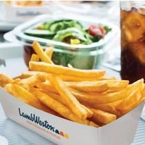Замразени полуизпържени картофи LAMB WESTON 6/6 - СТАНДАРТ - 2.5 кг.