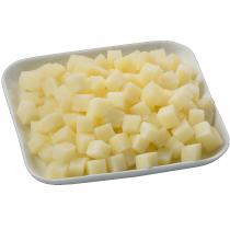 Бланширани картофи нарязани на кубчета - 2.50 кг.