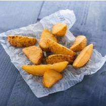 Замразени полуизпържени  нарязани по селски картофи с кожа LAMB WESTON НАТЮР - 2.5 кг.